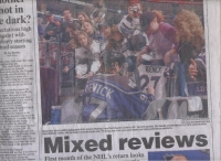 Daily News Sportspage Cover by