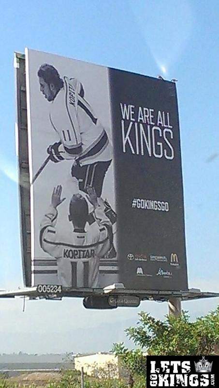 Kings billboards