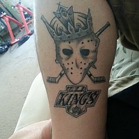LA Kings Tattoo