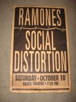 Ramones/SD Poster by C. Marshall
