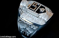 LA Kings Tiffany & Co. Stanley Cup Championship Ring