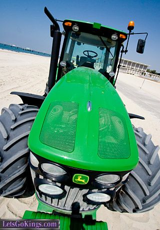 Long Beach Biodiesel Fueled Tractor