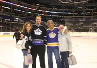 Standing on the Staples Ice
