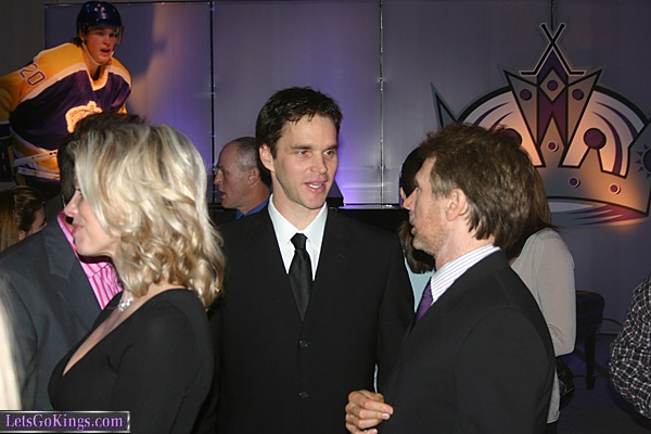 Luc Robitaille and Producer Jerry Bruckheimer