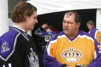 Anze Kopitar and Ian Turnbull