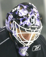 Sean Burke's new mask