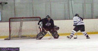Penalty Shot by RinkRat