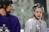 Ryan Flinn and Dustin Brown