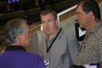 Rogie Vachon, Dave Taylor and Ian Turnbull
