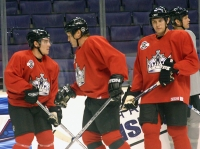 Cammalleri, Roenick and Frolov