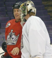 Roenick and Adam Hauser