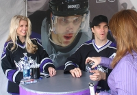 Stacia and Luc Robitaille