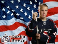 Dustin Brown USA Wallpaper