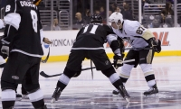 Kopitar And Crosby Face Off