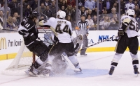 Kopitar Is Cleaned Put By Brooks Orpik