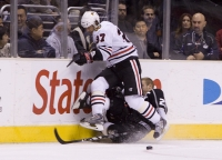 Dustin Gets A Taste Of His Own Medicine From Adam Burish