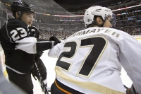 Scott Niedermayer And Dustin Brown