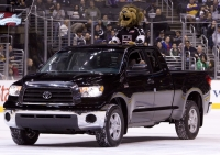 Bailey In The Toyota Tundra