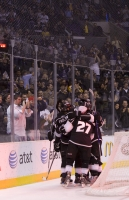 Kings Celebrate Frolov's Goal