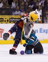 Slapshot Vs S. J. Sharkie