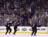 Kings Tie The Game With 5 Sec Left