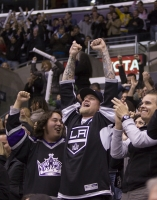 Kings Fans Celebrate Tie With 5 Seconds Left