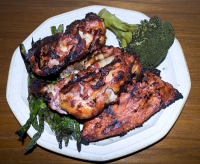 Tandoori Chicken At Casa Raton