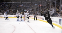 Anze Kopitar Scores The Hat Trick Goal