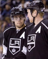 Anze Kopitar And Matt Greene