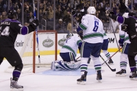 Jarret Stoll Scores On A Cross Crease Pass From Teddy Purcell At 12:17 To Make It 2-0 Kings