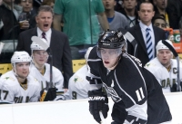Marc Crawford And Anze Kopitar