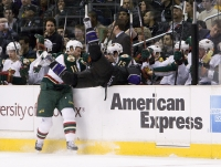 Oscar Moller Pays A Visit To The Wild's Bench