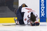 Alex Ovechkin Stretches