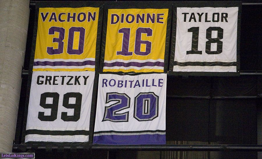 Image result for los angeles kings retired numbers