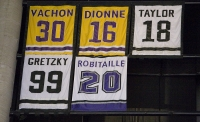 Retired Jerseys At Staples Center