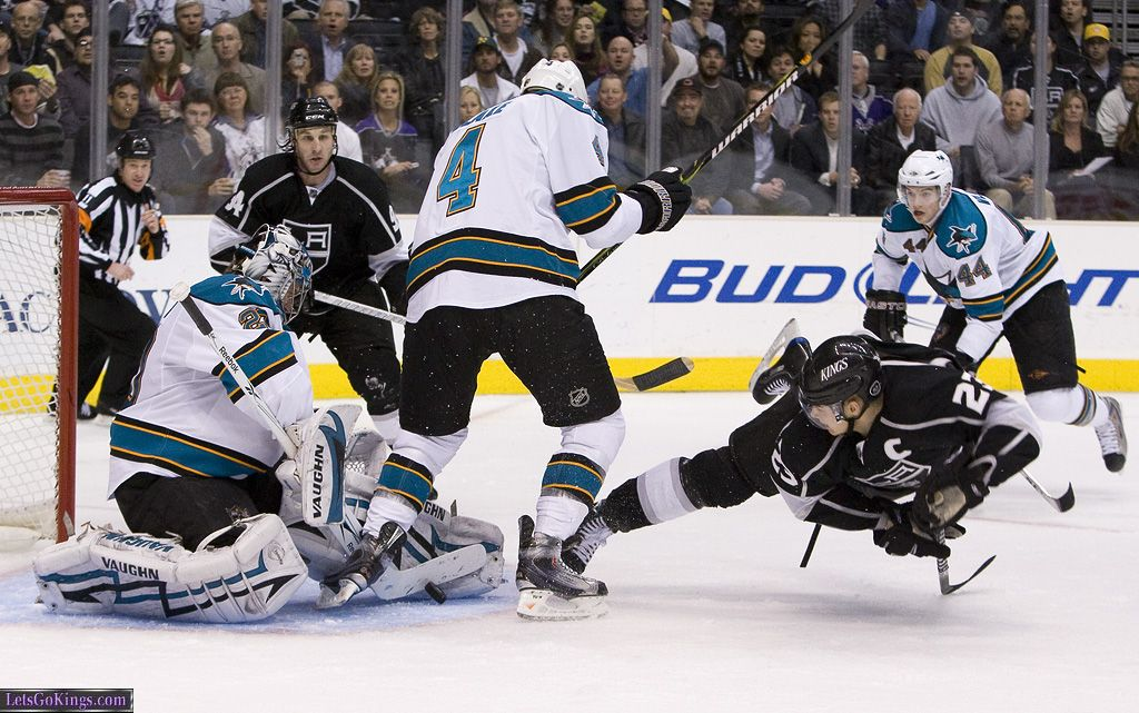 Dustin Brown Gets Air