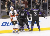Wayne Simmonds And Kings Celebrate