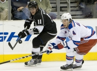 Anze Kopitar And Michael Del Zotto