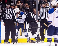 Mike Richards fight