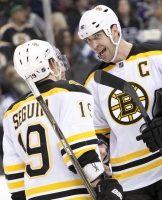 Zdeno Chara And Tyler Seguin