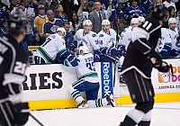 Sedin suffers Brown hit