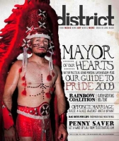 My Work On The Cover Of The District Weekly Magazine :)