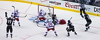 Kings celebrate Gaborik goal