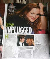 Drew Barrymore In Star Magazine Ju;y 30th Issue