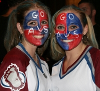 Avalanche Girls love their team