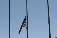 TSC Flag at half mast