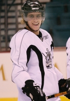 Big smile from Anze Kopitar