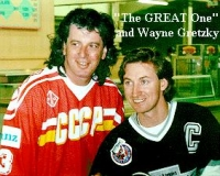 Gretzky and the Great one