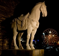 Horse Statue At The Pike