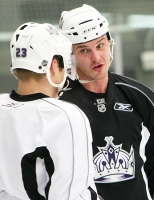 Raitus Ivanans And Dustin Brown